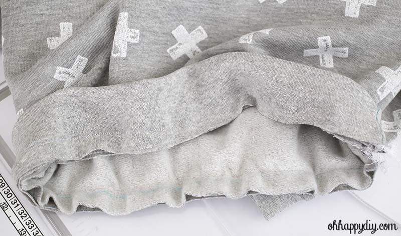 Burda 9407 DIY couture sweat enfant
